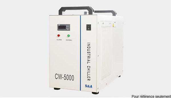 refroidisseur d'eau du graveur laser CO2