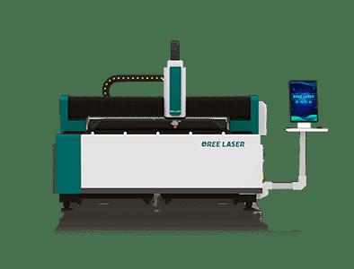 Machine de découpe laser de fibre de feuille moyenne OR-FM