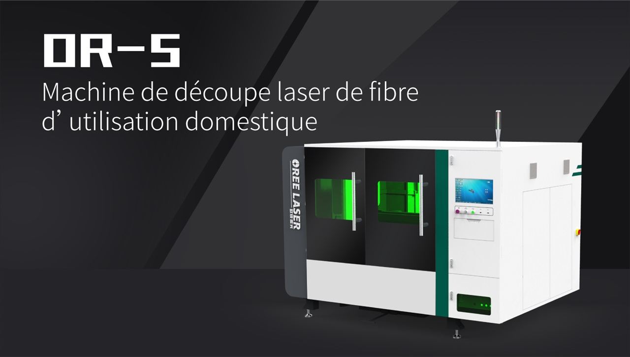 Machine de découpe laser de fibre d'utilisation domestique OR-S