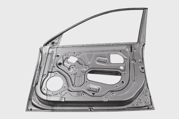 Coupe de porte de voiture