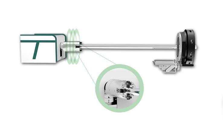 Mandrin pneumatique à centrage automatique entièrement automatique