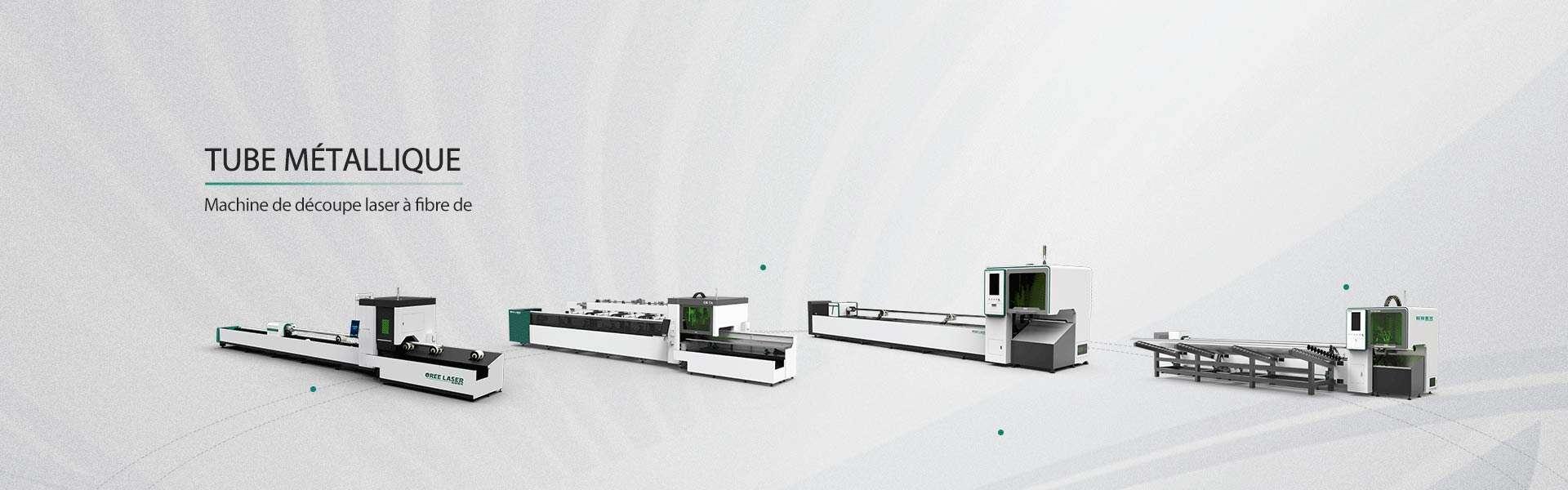 Machine de découpe laser à fibre de tube
