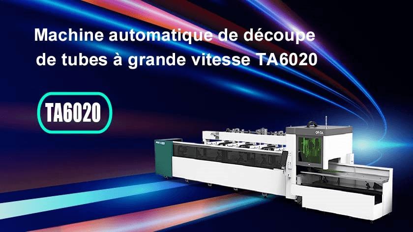 Machine automatique de découpe de tubes à grande vitesse TA6020